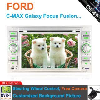 In Dash Car DVD GPS Navi For Ford S Max C Max Fusion Focus Galaxy