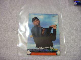 Major League Baseball Topps Card 2001 Mike Glendenning