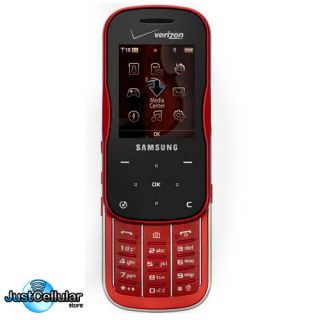 Trance Verizon PagePlus GPS Camera Cell Phone No Contract Red