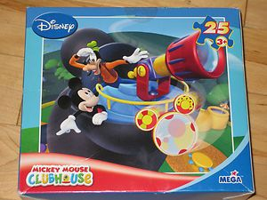 Mickey Mouse Clubhouse 25 Piece Puzzle with Goofy and Toodles