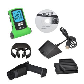 New Pyle PGPFPD5 GPS Speedometer Navigator Device Current Avg Max