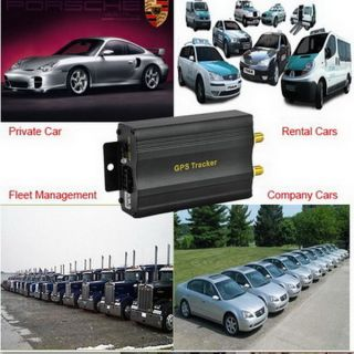 GPS Car Tracker Real Time Tracking SMS and GPRS Tracking Overspeeding