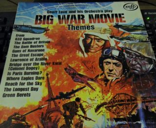 Geoff Love His Orchestra Play Big War Movie Themes Free P P