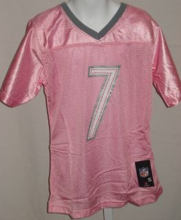 Pittsburgh Steelers Football Youth Girls Jersey Rothlesburger 7 Pink