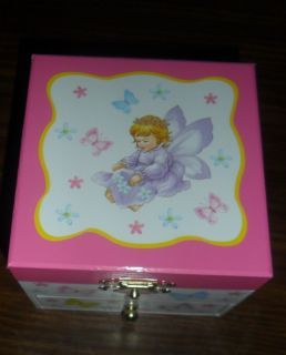 Musical Fairy Tale Jewelry Box New Girls Jewelry Box Pink Childrens