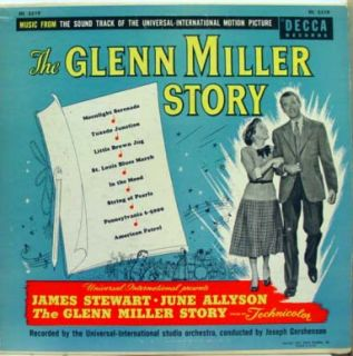Soundtrack The Glenn Miller Story LP Vinyl DL 5519 VG