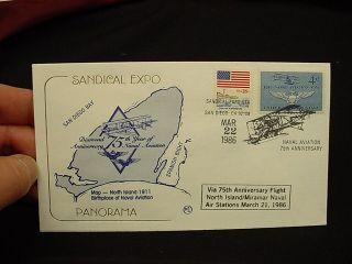 Airmail Aviation Stamp Covers Glenn Curtiss Blache Scott Navy FDC