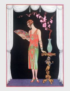 Art Deco Fashion Plate Georges Barbier 1920 30