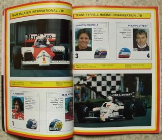 British Grand Prix Brands Hatch 1986 Formula One F1 Official Programme