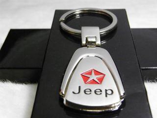 Jeep Key Chain Ring FOB Compass Grand Cherokee Liberty Patriot