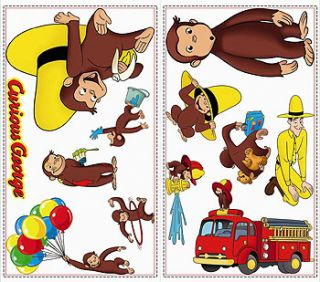 Large tree giant wall sticker huge removable vinyl uk for Curious george giant wall mural