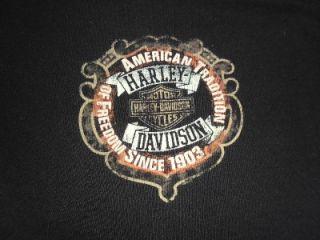 Longhorn Harley Davidson Motorcycles T Shirt   Grand Prairie, TX   2XL