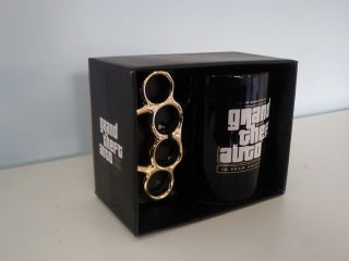 Grand Theft Auto 3 10th Anniversary Drinking Mug Brand New GTA III