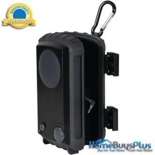Grace Digital Audio Rugged Waterproof Case With Built In Speaker for