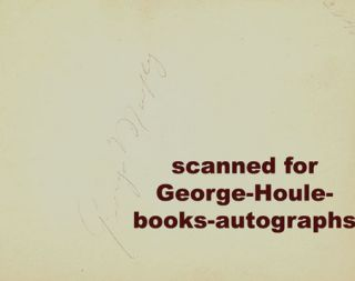 George Murphy Autograph 1939 Shirley Temple