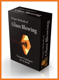 Blowing Be a Glass Blower and Create Glassware Arts Crafts Supplies