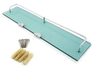 New Bath Bathroom Tempered Glass 8mm Shelf Shelves