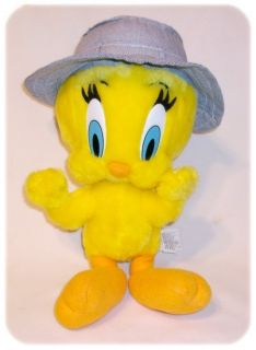 Plush Tweety Bird Warner Bros Looney Tunes Toy 12