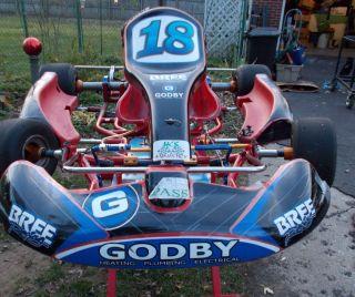 2008 Birel Chassis RX 30 Racing Go Kart