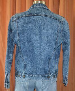 Guess Georges Marciano Vintage Blue 100 Cotton Denim Jean Jacket Mens