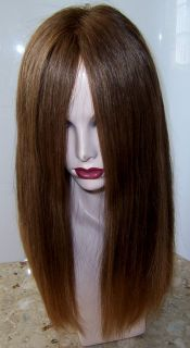Georgie Kosher Human Hair Wig Sheitel Multidirectional Scalp Ponytail