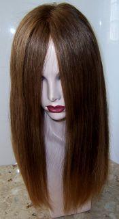 Georgie Kosher Human Hair Wig Sheitel Multidirectional Scalp Ponytail