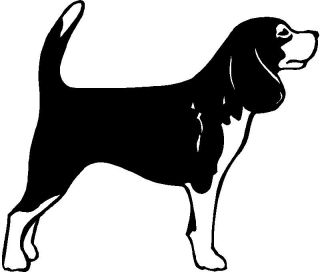 Beagle Dog Graphic Sticker Decal Graphic