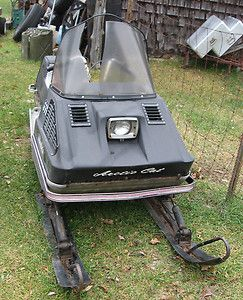 Vintage 1972 Arctic Cat Cheetah Snowmobile for Parts or Restore
