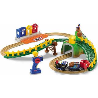 Fisher Price GeoTrax Transportation System Remote Control Timbertown