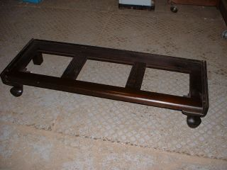 GUNN GRM GRAND RAPIDS MICHIGAN BARRISTER BOOKCASE BASE PART MAHOGANY