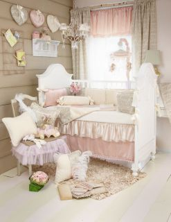 Love Letters 6 Piece Crib Set by Glenna Jean