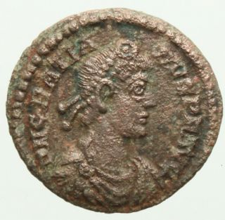 15463 Genuine Ancient Roman Coin Gratian AE4 Struck Between 367 383 Ad