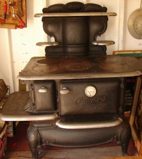Large Glenwood Anniversary Special Wood Cook Stove