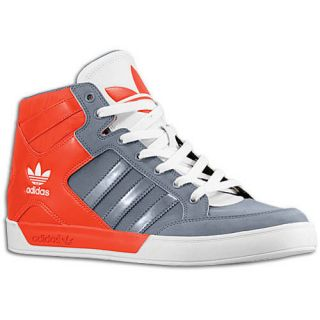 new Adidas Originals Mens Hard Court High Gray Orange Shoes