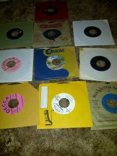 Lot of 10 Grandpa Jones 45 rpm records Grand Ole Opry Hee Haw Rca VERY