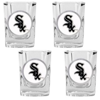 Great American Products MLB Square Shot Glass Set of 4