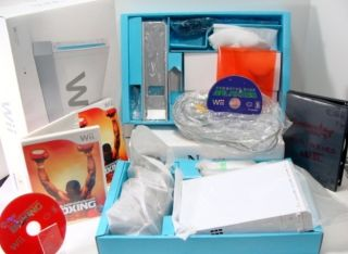 Nintendo Wii Game System Bundle with 2 Games →worldwide Shipping
