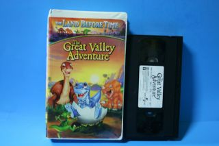 The Land Before Time II The Great Valley Adventure VHS Video Kids