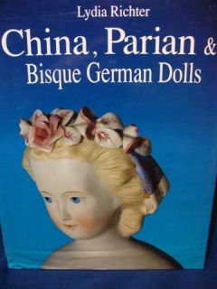 China Parian Bisque German Dolle Book 65466