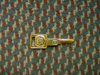 Gold Plated GM Cadillac Vats Key Code 1 Key Blank