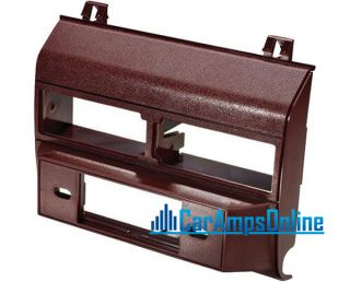 GM Chevy Truck Car Stereo Dash Mounting Kit Maroon Radio