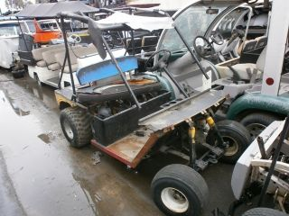 Gas Golf Cart Parts car $1  Nr 2 passenger seat engine fuel