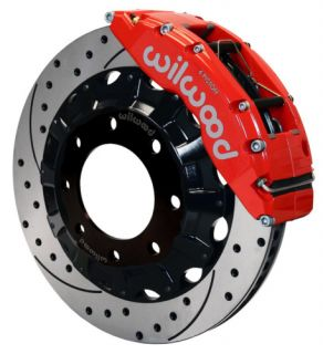 Wilwood Disc Brake Kit Front GMC Sierra 1500HD 2500HD 16 Drilled