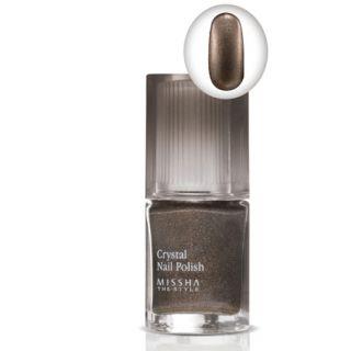 Missha Style Crystal Nail Polish♥korea Hot Green Silver Gold Pink