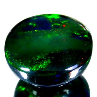 Ct Amazing World Class Red Green Blue Flash Lightning Ridge Black Opal