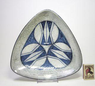 Michael Andersen Art Pottery Ceramic Bowl Denmark Bornholm Mid Century