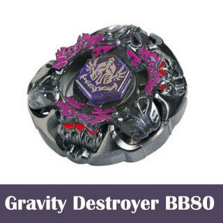 Beyblade Gravity Destroyer BB80 Metal Fusion Fight Genuine Takara Tomy