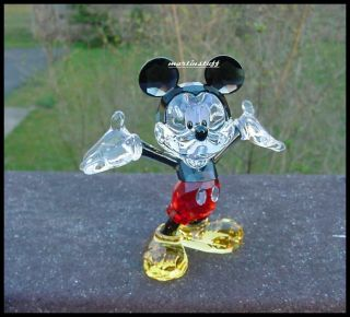 Swarovski® Crystal Disney Mickey Mouse Color Version New for 2012