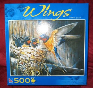 Country Barn Swallow by Wilhelm Gobel 500 pc Jigsaw Puzzle Birds NEW