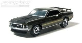 Greenlight Collectibles 1 64 Scale Green 1969 Ford Mustang Mach I